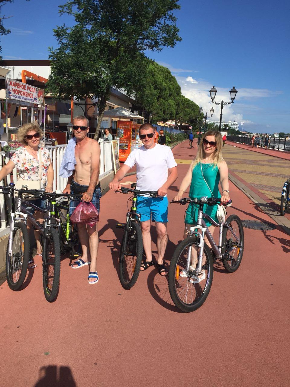 Прокат велосипедов в Адлере и в Сочи