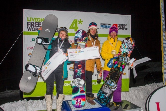 FWQ Snowboard Women