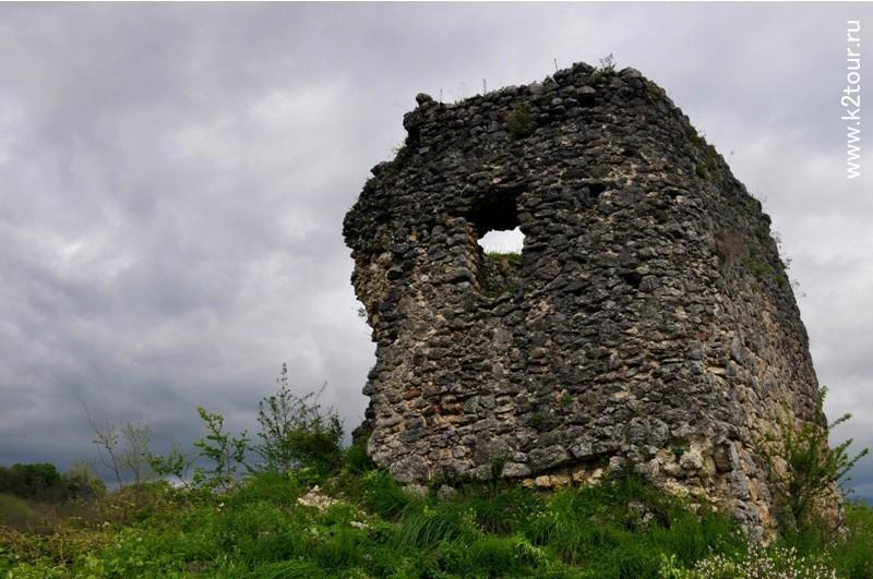крепость Абахуаца
