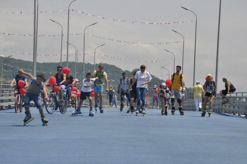 Прокат роликов в Олимпийском парке